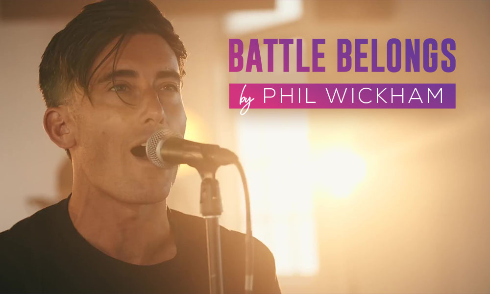 """Battle Belongs"" by Phil Wickham"