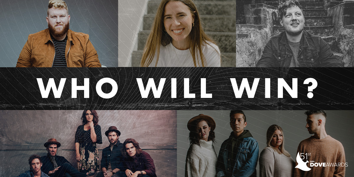 51st GMA Dove Awards New Artist of the Year Nominees