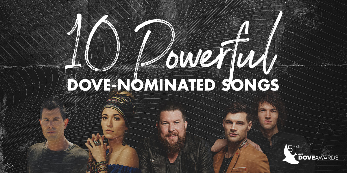 GMA Dove Awards Nominated Songs