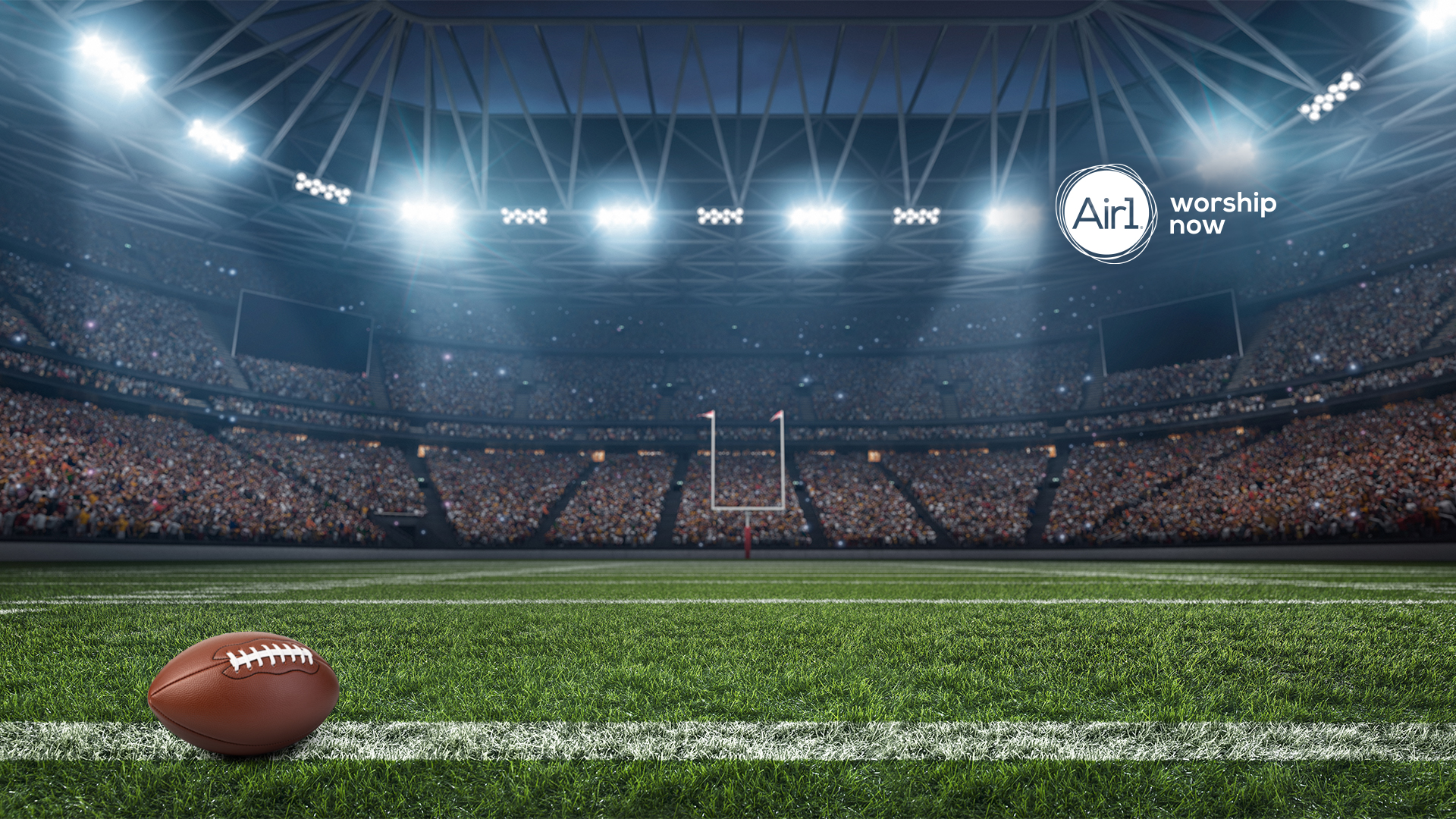 Football and Sports Background For Thanksgiving Zoom Call
