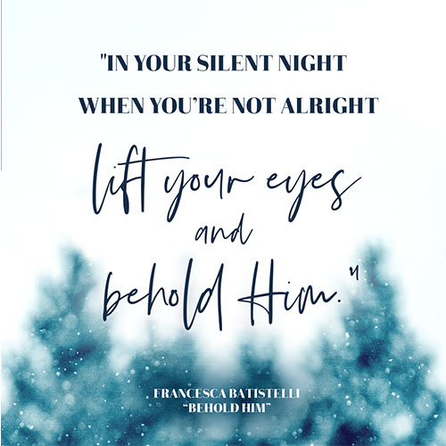 """""""In your silent night When you"""