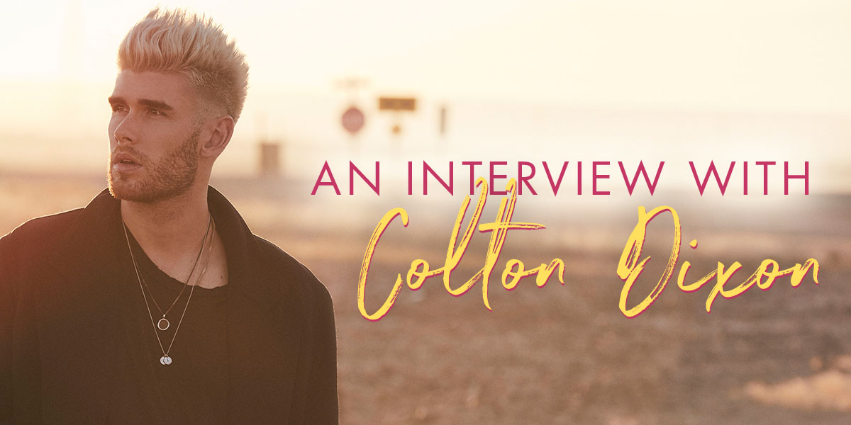 An Interview With Colton Dixon