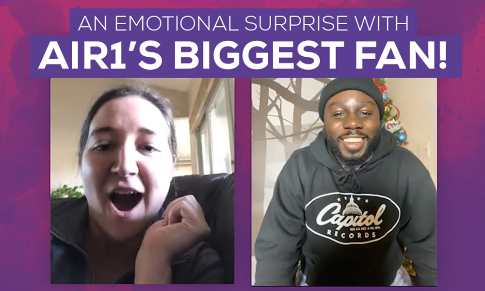 An Emotional Surprise With Air1's Biggest Fan!