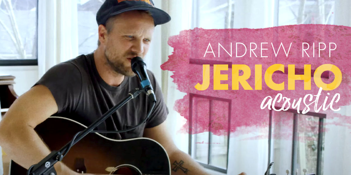"""Andrew Ripp Watches All His """"Jericho Walls"""" Fall in New Song"""