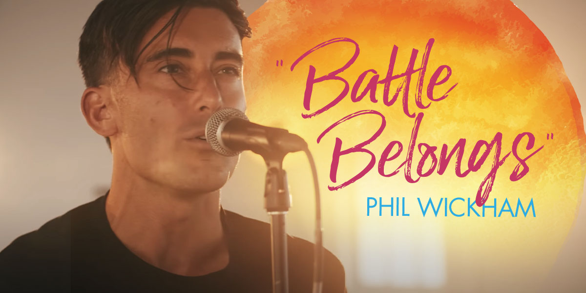 Phil Wickham Raises a Battle Cry on New Song