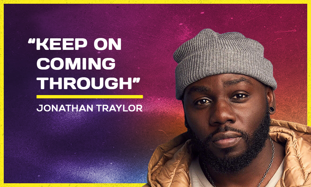 """""""Keep On Coming Through"""" by Jonathan Traylor"""