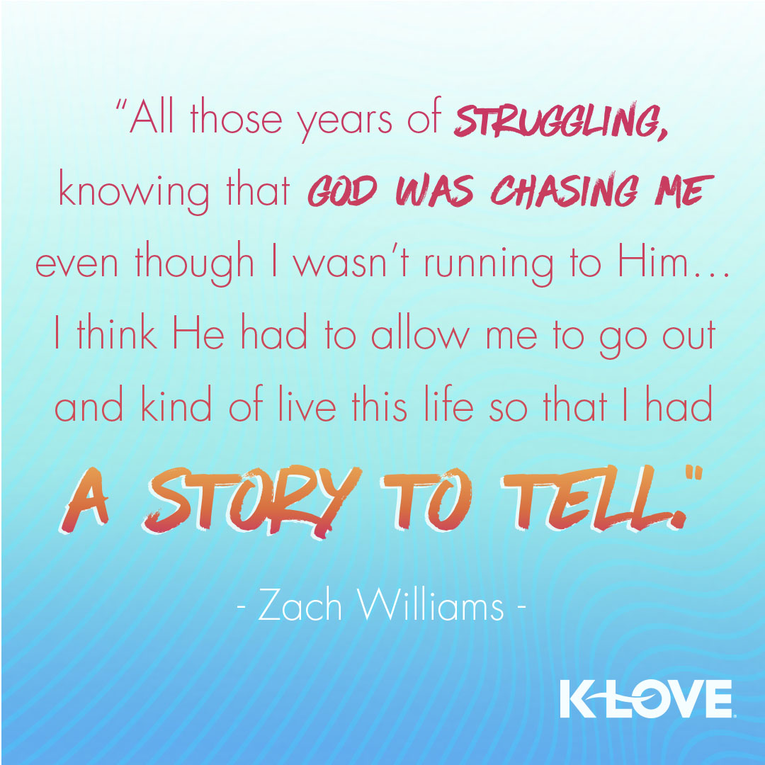 Zach Williams Cover Story Quote