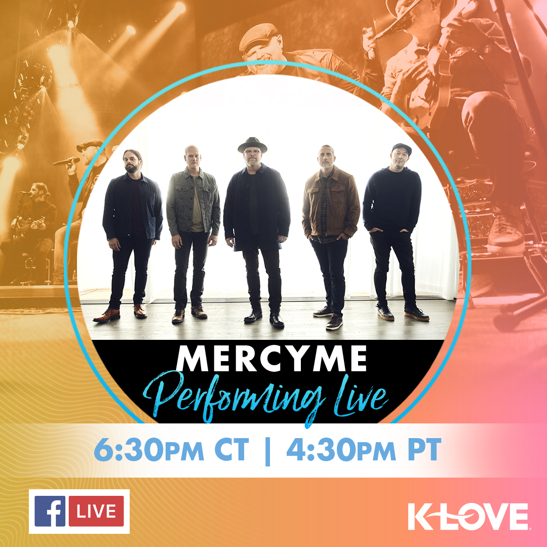 MercyMe Facebook Live