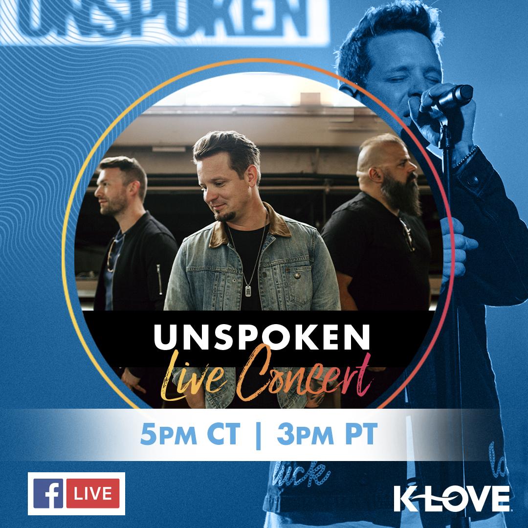 Unspoken Facebook Live