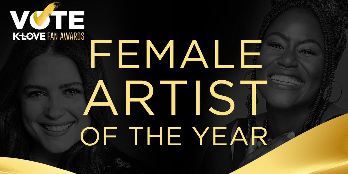 2021 K-LOVE Fan Awards: Female Artist of the Year Nominees