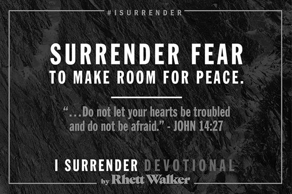 Surrender Fear