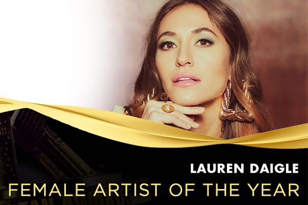 2021 K-LOVE Fan Awards Female Artist of the Year