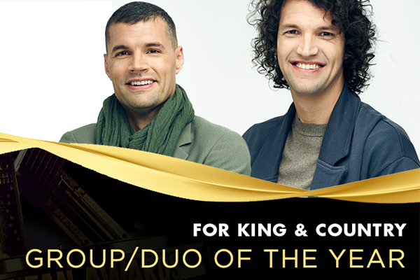 2021 K-LOVE Fan Awards Group/Duo of the Year