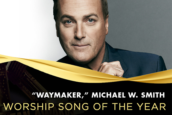 2021 K-LOVE Fan Awards Worship Song of the Year