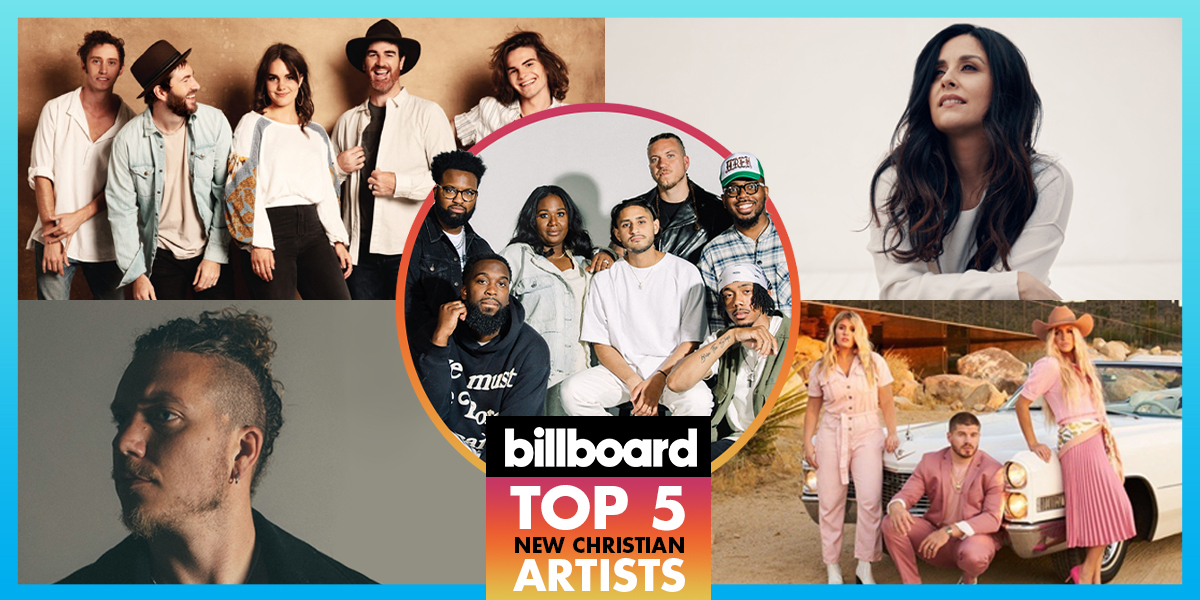Billboard Chart Toppers: New Christian Artists