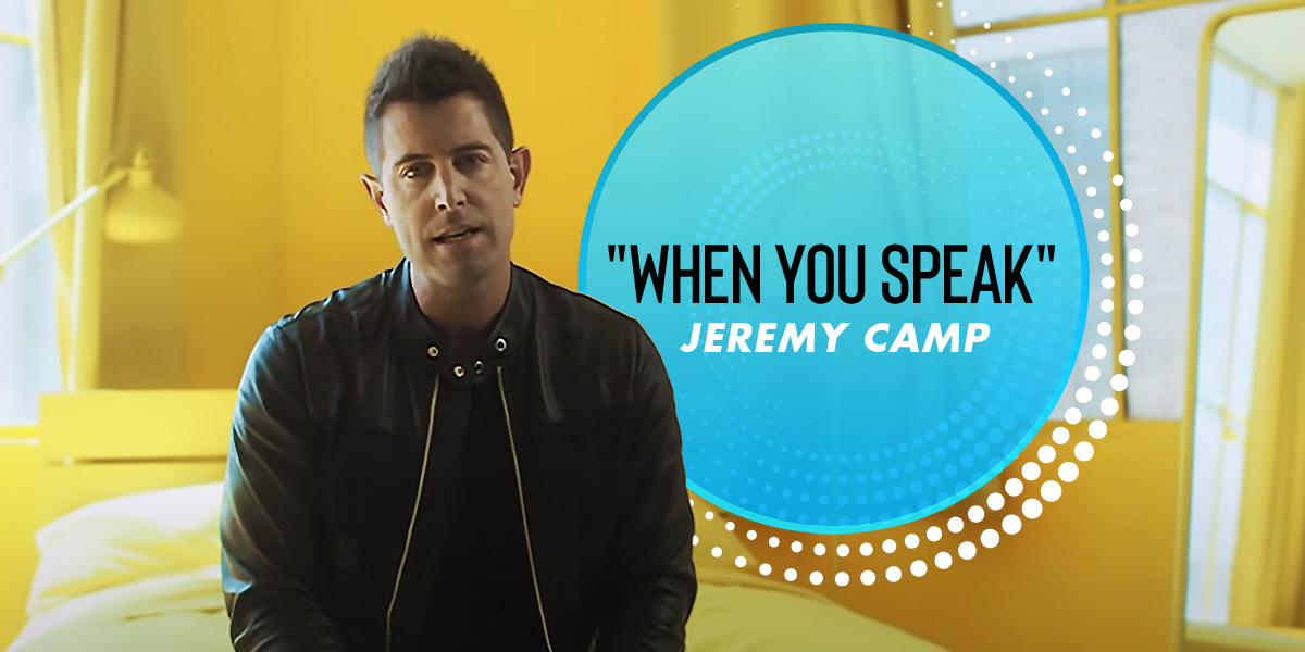 """Jeremy Camp Previews Next Album With """"When You Speak"""""""
