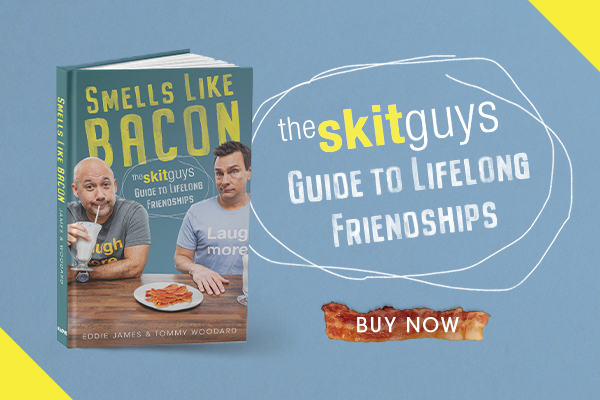 the skit guys smells like bacon buy now