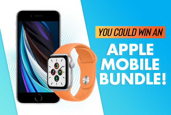 you could win an apple mobile bindle