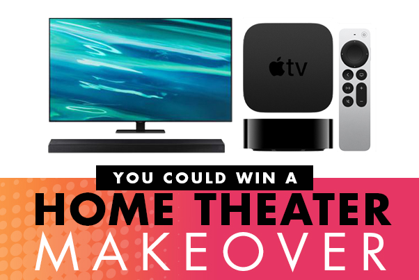 You Could Win a Home Theater Makeover